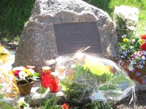Einweihung Gedenkstein RickL