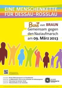130309 Dessau Plakat_MENSCHENKETTE_web_450_px